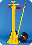 Aldon® Heavy Duty Spin Top  Truck Trailer Stabilizing Jack 